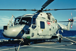 XZ723, Westland Lynx HAS.3S, Fleet Air Arm, 815 Squadron, HMS Beaver Flight, Adriatic, 27/02/1996