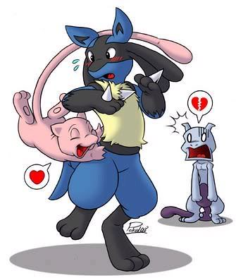 lucario and mew flickr photo sharing