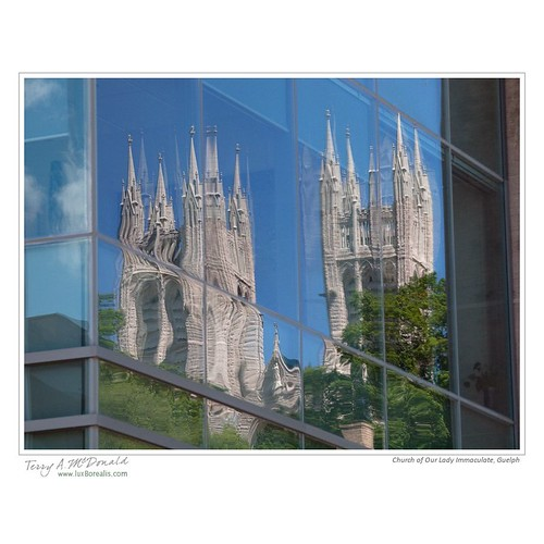 Church of Our Lady Immaculate, Guelph by Terry McDonald - www.luxborealis.com