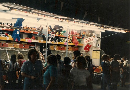 Saint Richard's Catholic Parish annual summer carnival. Chicago Illinois. July 1983. by Eddie from Chicago