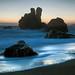 Bodega beach dusk