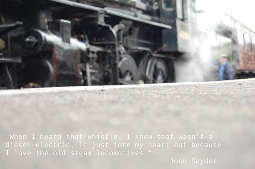 Love of steam