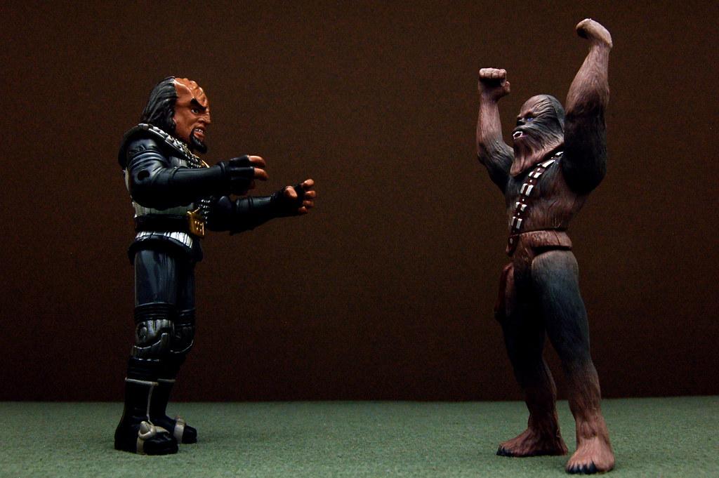 Worf vs. Chewbacca (182/365)