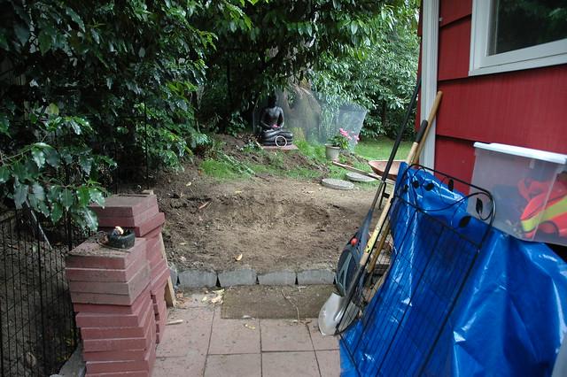 Photoset Building Red Cement Brick Patio  Dog Run by Wonderlane