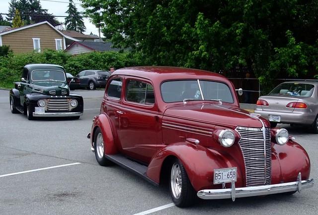 1938 chevrolet 2 door sedan 1949 ford pickup flickr for 1938 chevrolet 2 door sedan