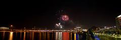 Fireworks at Tempe Town Lake