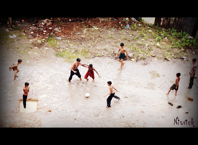 rainy street football.part1