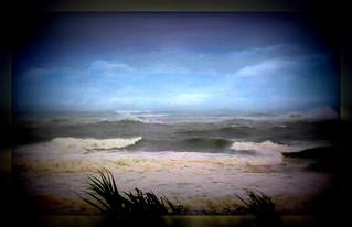 Rough Weather at Caloundra.
