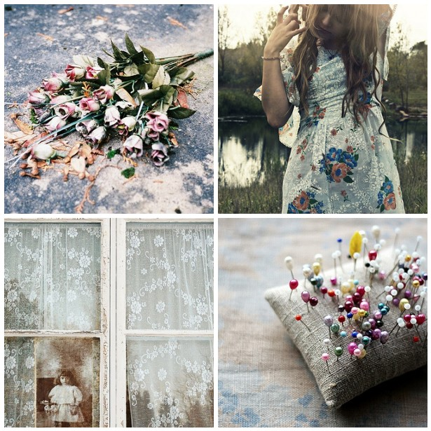 colour palette : weathered textures - curated by Emma Lamb