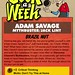 Geek A Week Challenge: #20: Adam Savage (cardback)