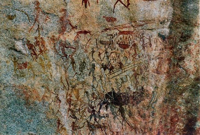 Zimbabwe rock art hol0039 Makoni 2