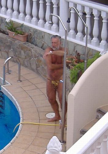 Old man shower nude, gitane redhead week where