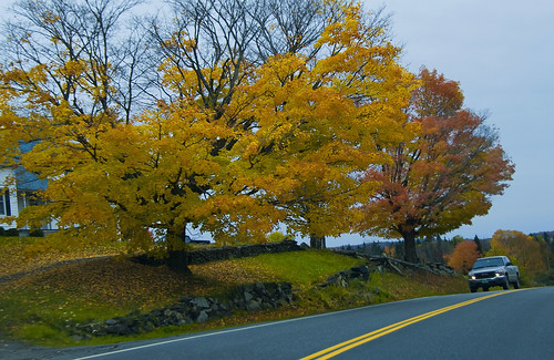 autumn fall landscape scenery vermont unitedstates scenic newengland scene foliage 2009 vt westdanville