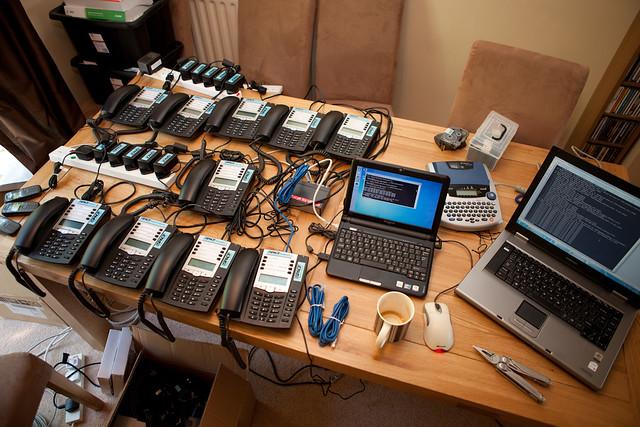 Configuring a VoIP PBX