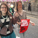 Happy marchers by benwerd