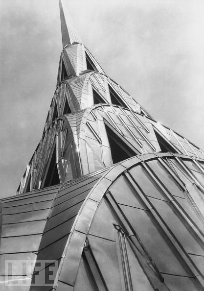 Chrysler Building, by Margaret Bourke White 1931
