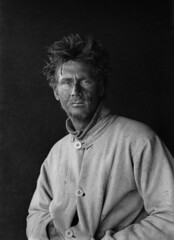 Portrait of C.S. Wright, Scott Expedition, Antarctica by Herbert George Ponting 1912