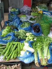 Vegetables for sale, Beijing