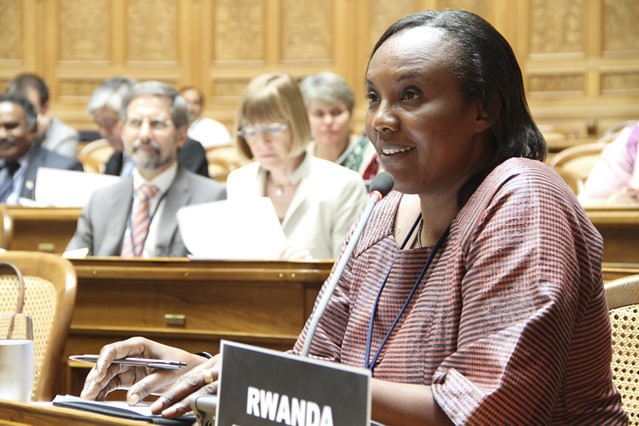 Rose Mukantabana: Speaker of the Chamber of Deputies, Rwanda