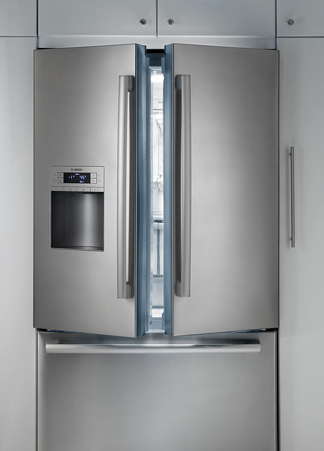 bosch stainless steel french door refrigerator flickr photo sharing. Black Bedroom Furniture Sets. Home Design Ideas