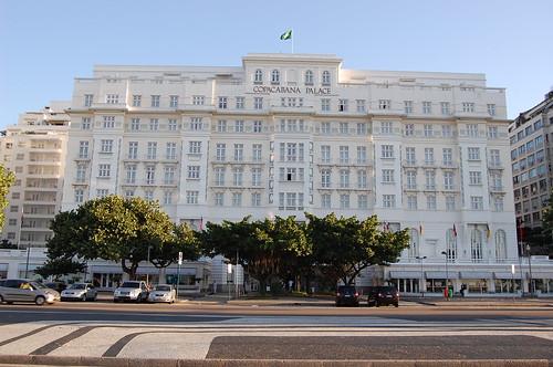 Façade du Copacabana Palace / source