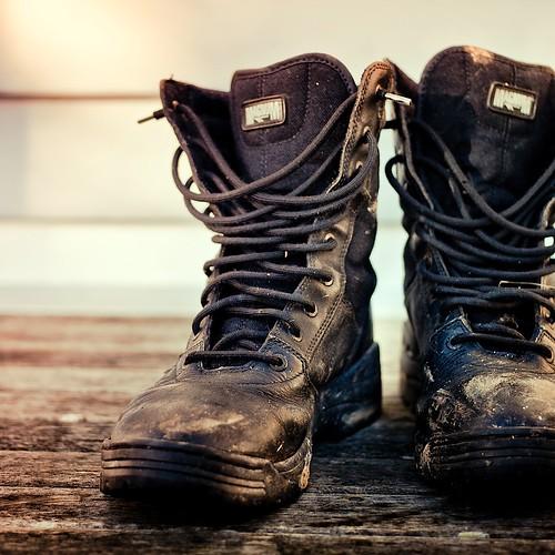 Farm / Boots / Photography