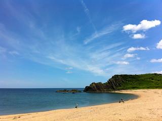 a beach of Tango peninsula