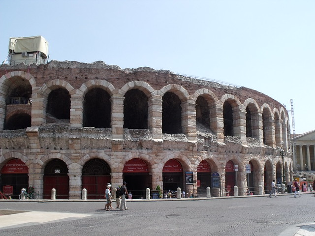 The Arena, Piazza Bra, Verona