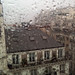 Paris summer rainstorm