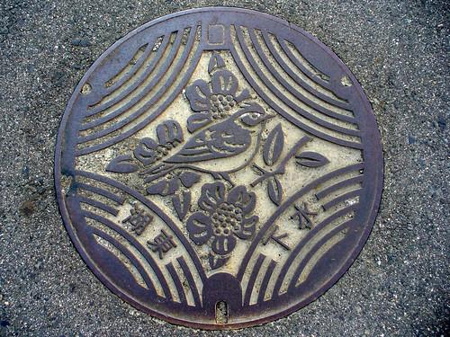 Koto,Shiga manhole cover(滋賀県湖東町のマンホール)