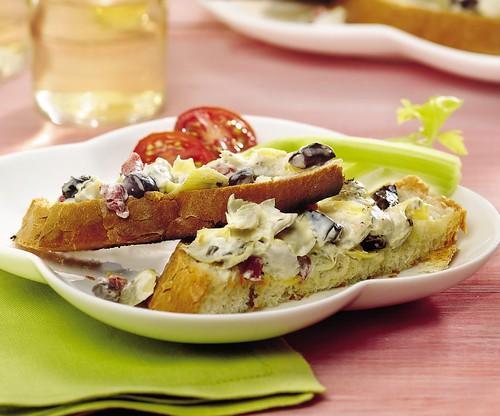 Grilled Artichoke Bruschetta Recipe