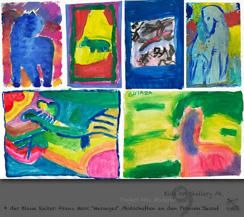 """9 yrs) _4* der Blaue Reiter: Franz Marc """"Messages"""" /Botschaften an den Prinzen Jussuf by SeRGioSVoX"""