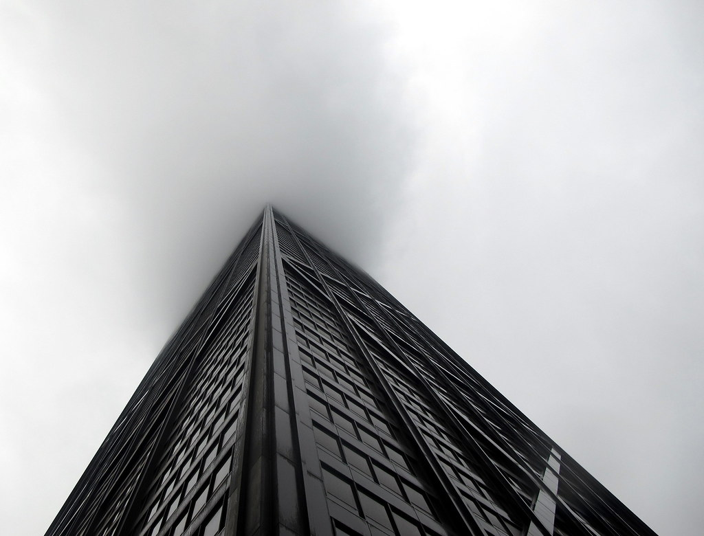 Hancock in the fog