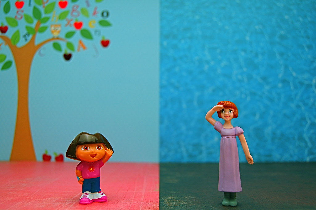 Dora Marquez vs. Wendy Darling (204/365)