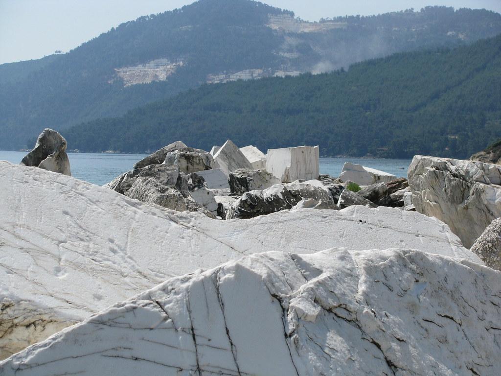 Marble stone, Thassos
