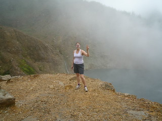 Boiling Lake for the second time!