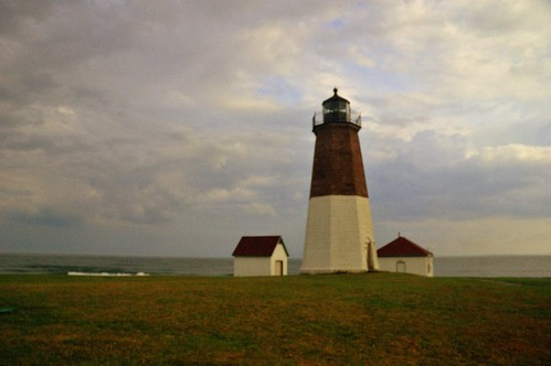 Point Judith Light, Rhode Island by dadofliz