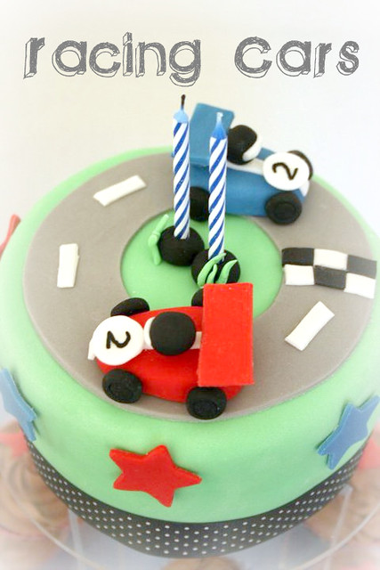 Birthday Cake Photos Racing Car : photo