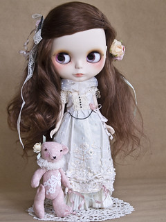 Moriko, the forest girl~ Custom Blythe doll I HAVE WINGS