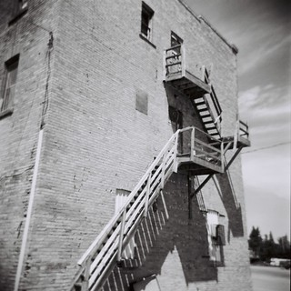 This is a Fire Escape