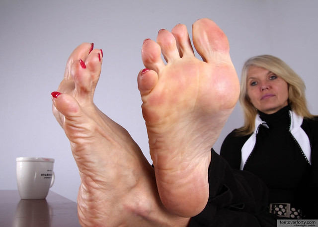 Mature Female Foot 34
