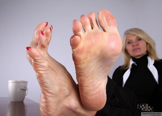 Mature Female Foot 34