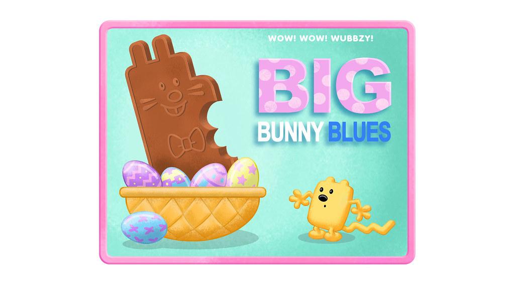 "Cube Farm Blues >> ""Big Bunny Blues"" Title Card | Flickr - Photo Sharing!"