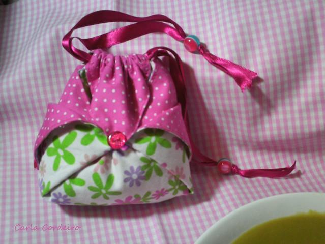 Bolsa Em Origami De Tecido : Bolsinha origami com link do pap a filhota me pediu