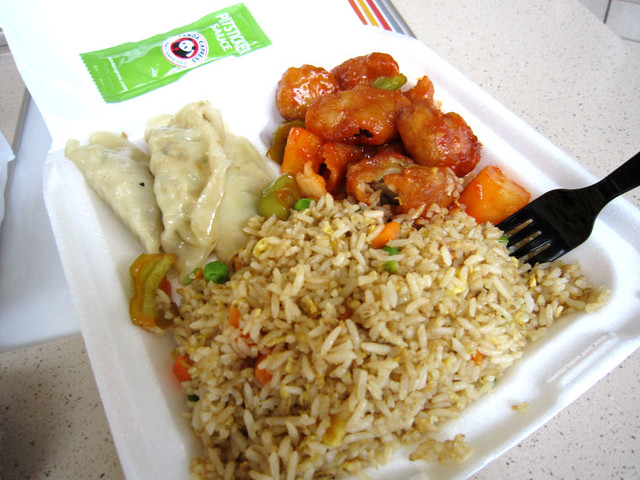 Chinese food at panda express flickr photo sharing for Asian cuisine express