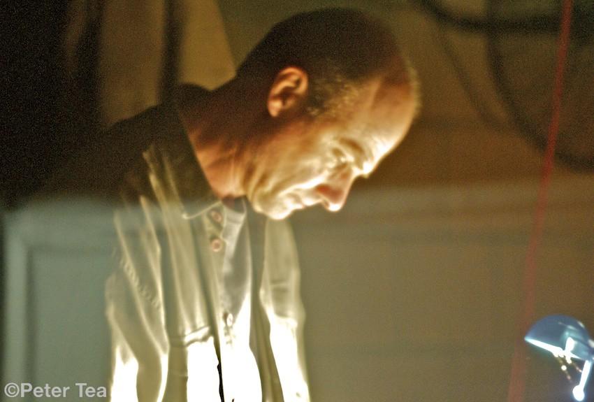 Ian Dixon Trpt Richard Chew Keys COMA engineer[throu plastic awning]