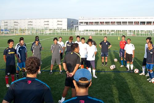 FCバルセロナ ナイキ コーチング セッション  堺トレセン - 11