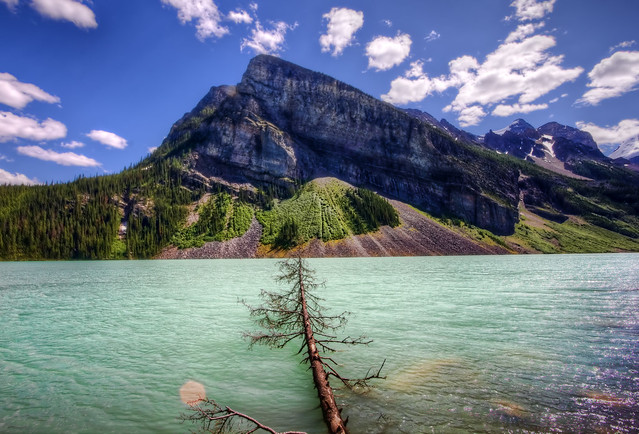 Mountains of Lake Louise