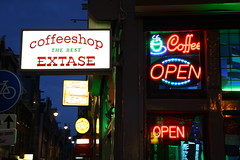 Coffeeshop, Amsterdam
