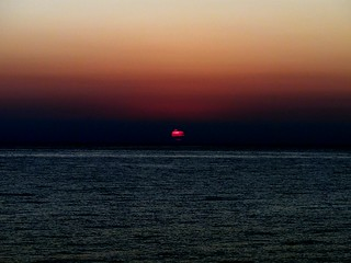 Where we start...,sunrise over Siracusa sea,Italy